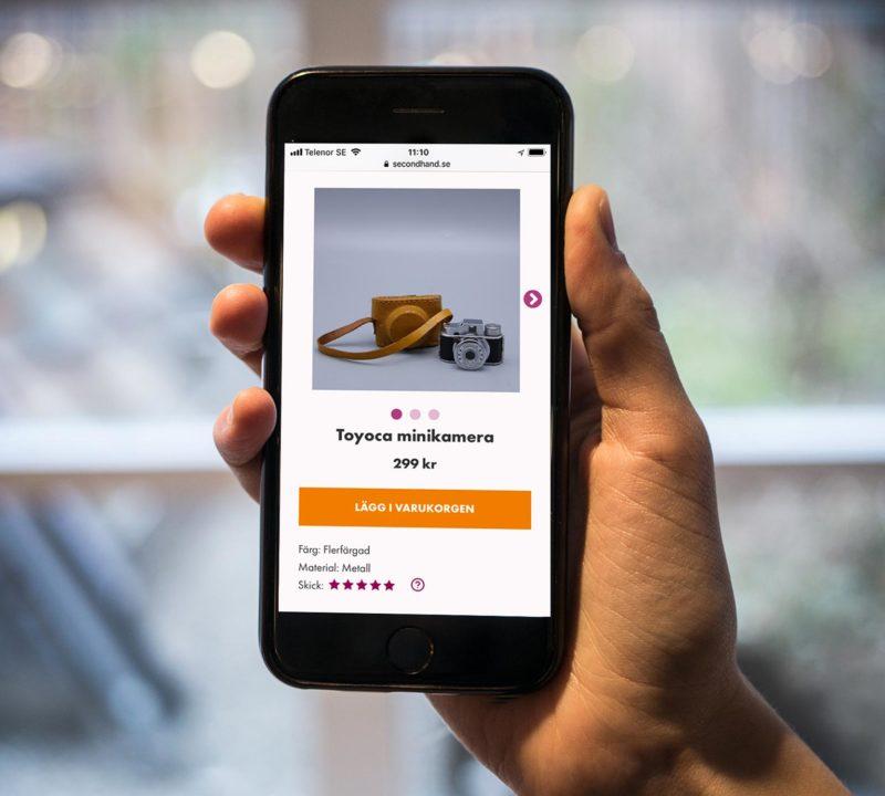 Secondhand.se – bästa onlinebutiken för second hand